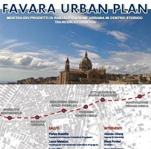 Favara Urban Plan